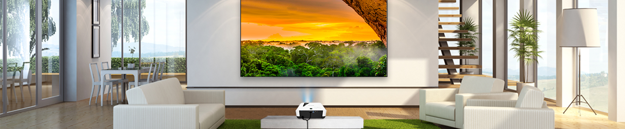 ViewSonic Introduces New 4K and 1080p Laser Projectors