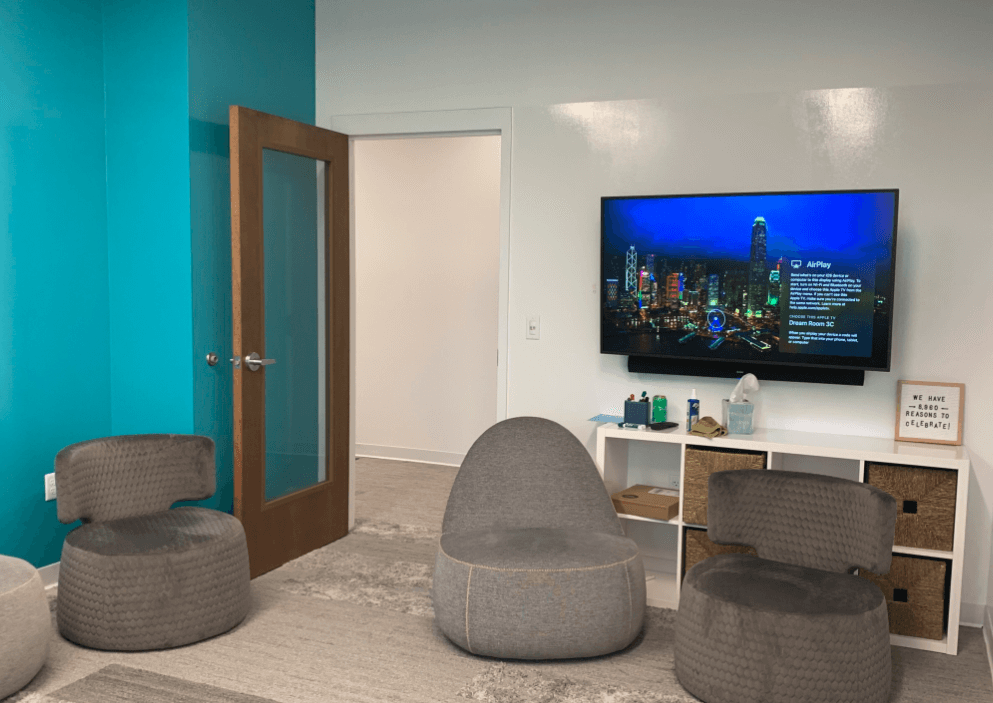 Meeting Room with ViewSonic Digital Display