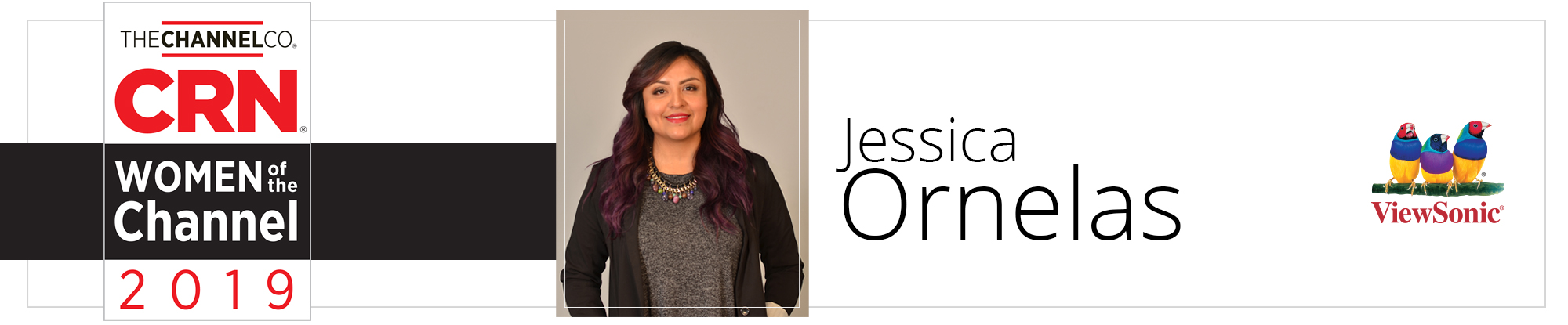 Jessica Ornelas of ViewSonic Honored  as One of CRN's 2019 Women of the Channel