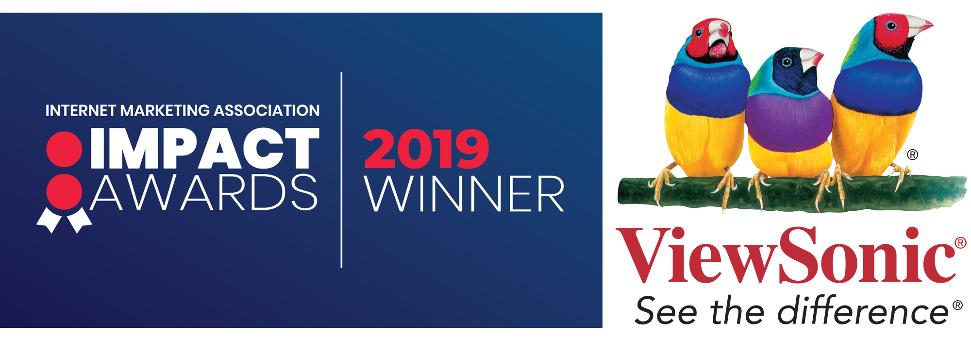 ViewSonic Honored for Innovation of the Year at 2019 IMPACT Awards  Hosted by the Internet Marketing Association