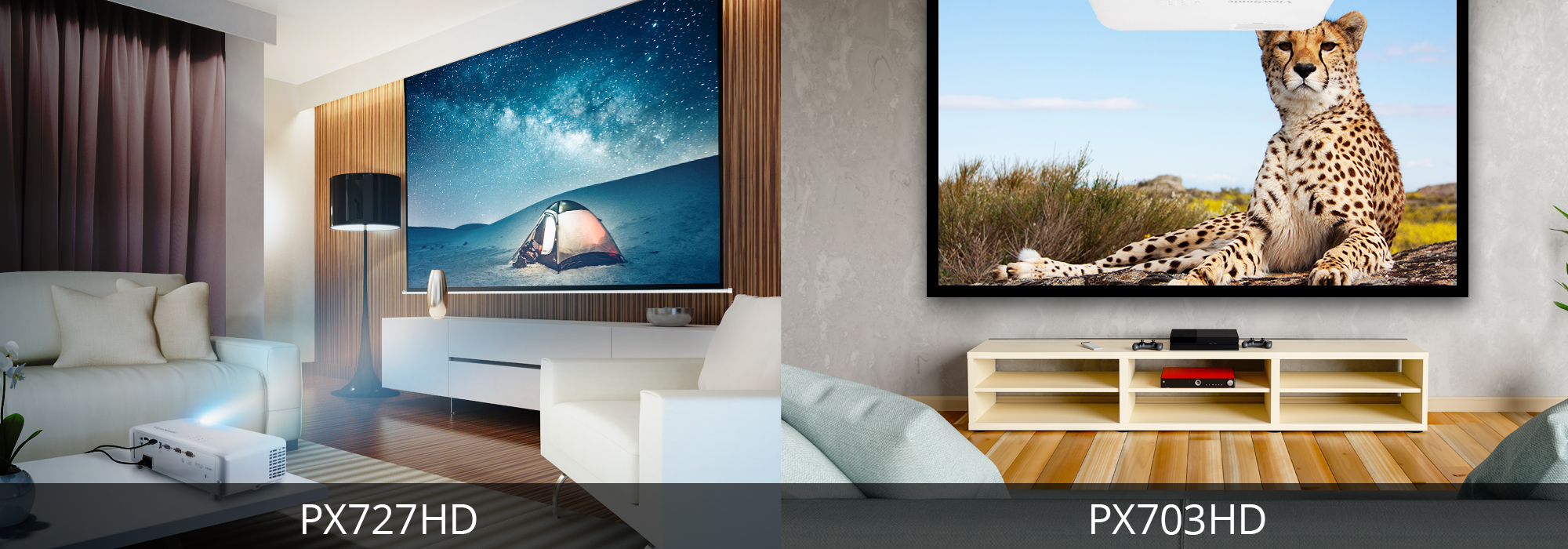 ViewSonic Launches Two New Projectors Geared for Home Theater and Gaming
