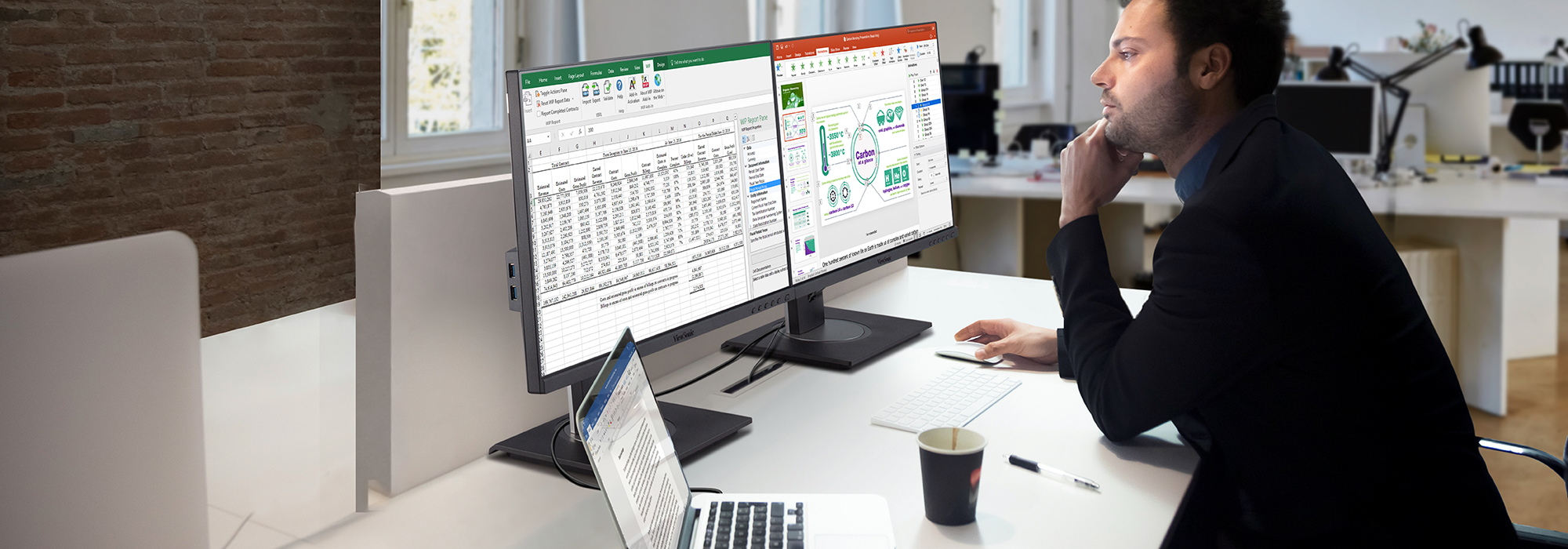 ViewSonic Launches New Docking Monitor for Transformative and Efficient Workspaces; Integrated Software Offers Easy On-Screen Display Control