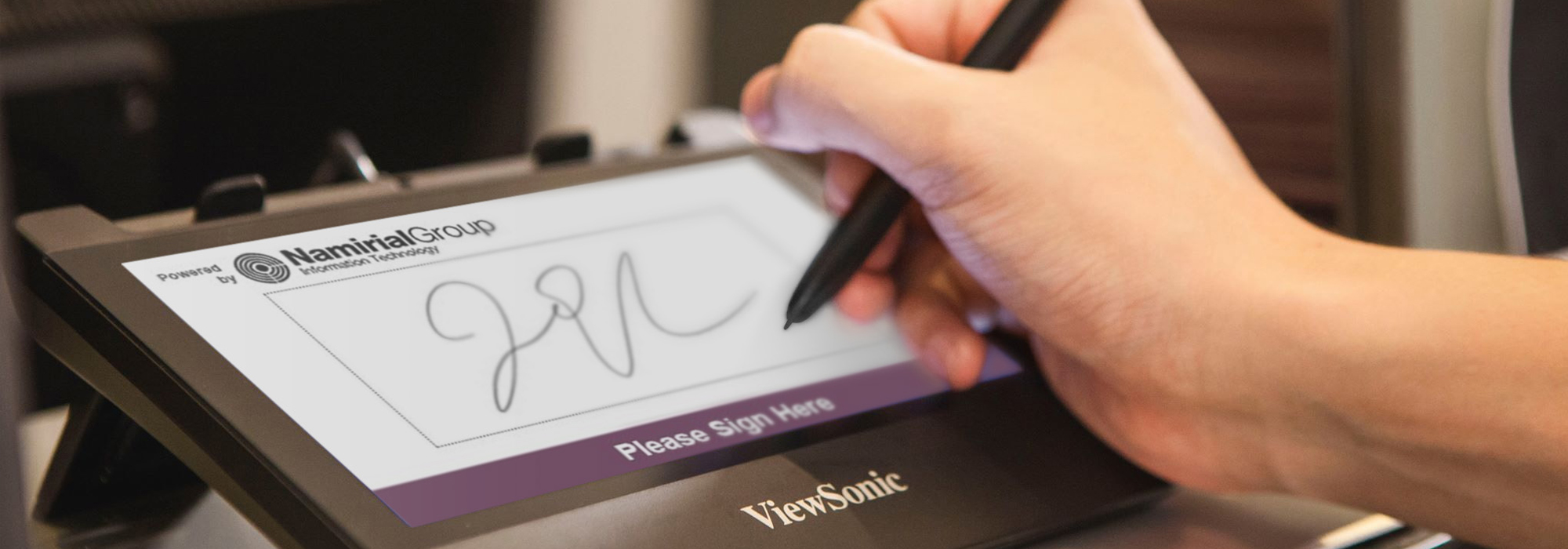 ViewSonic to Offer eSignature Solutions Powered by Namirial Software