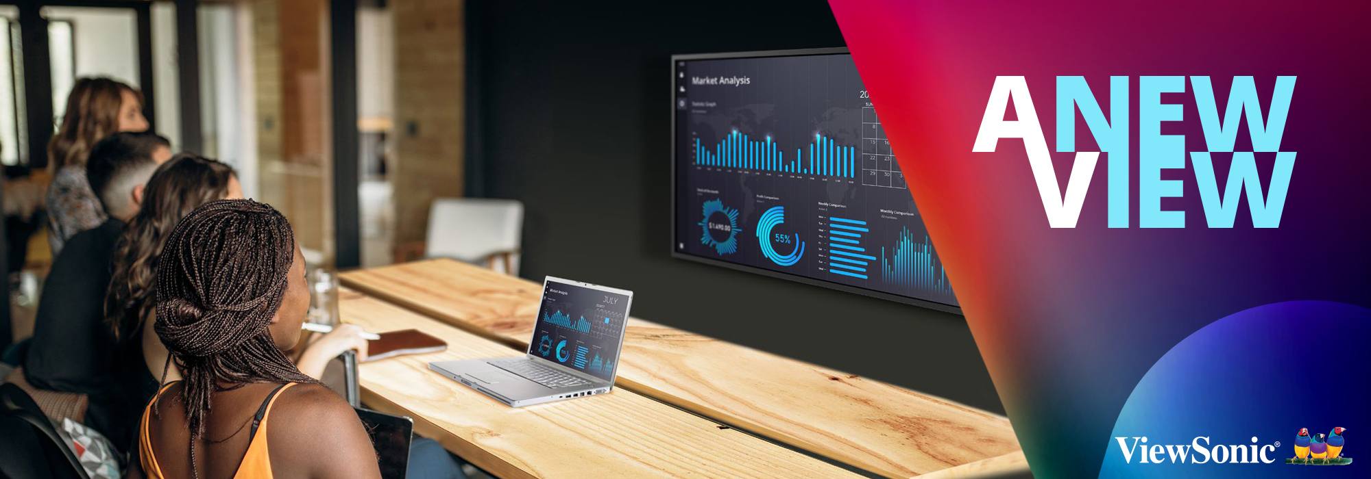ViewSonic Launches New Line of Premium Wireless Presentation Displays with Native 4K UHD Resolution, Built-in Content and Screen Sharing Software and Device Management System Support