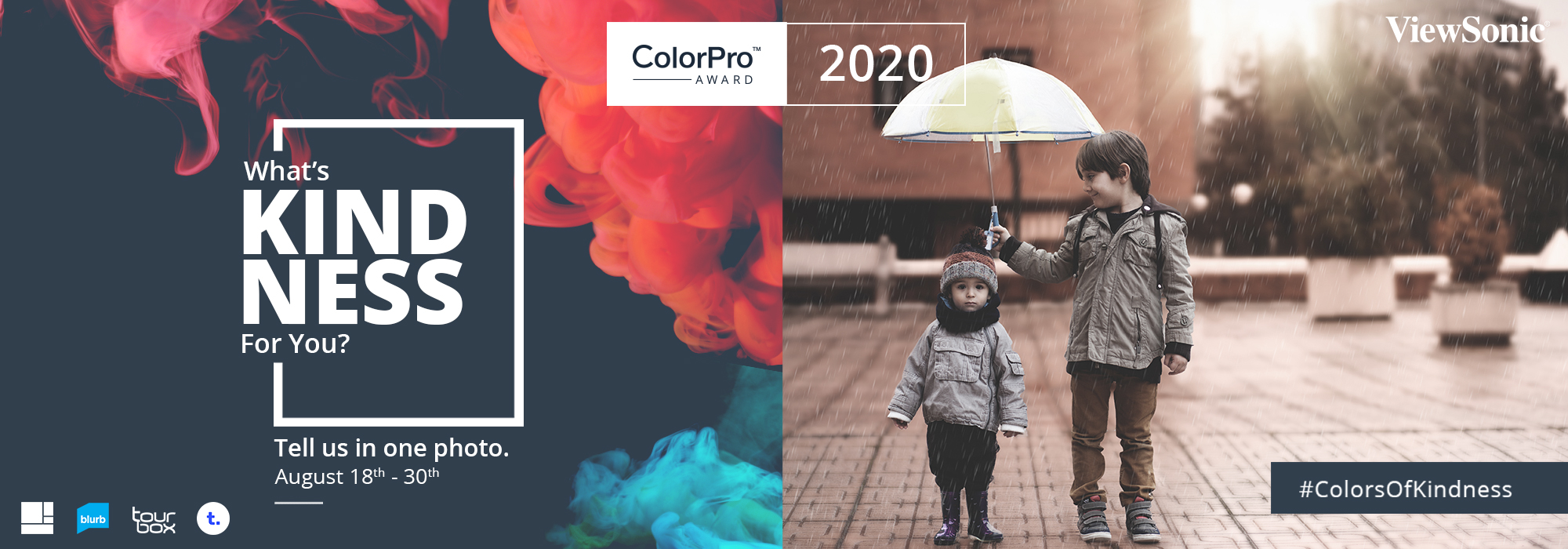 "ViewSonic Holds ""ColorPro Award Global Photography Contest"" to Highlight the Spirit of Kindness"