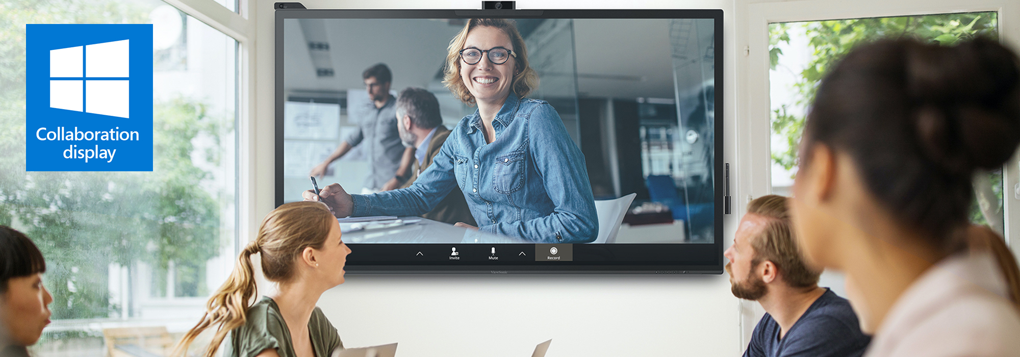 The ViewSonic Interactive ViewBoard IFP70 Series Receives Microsoft Windows Collaboration Display Certification