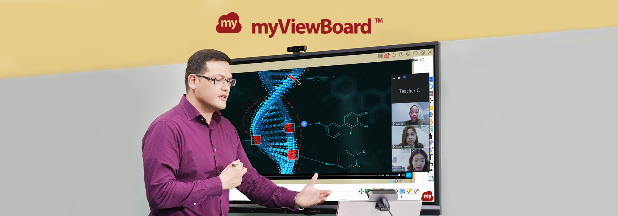 myViewBoard Software Platform Leads EdTech's Transformation in Hybrid Learning