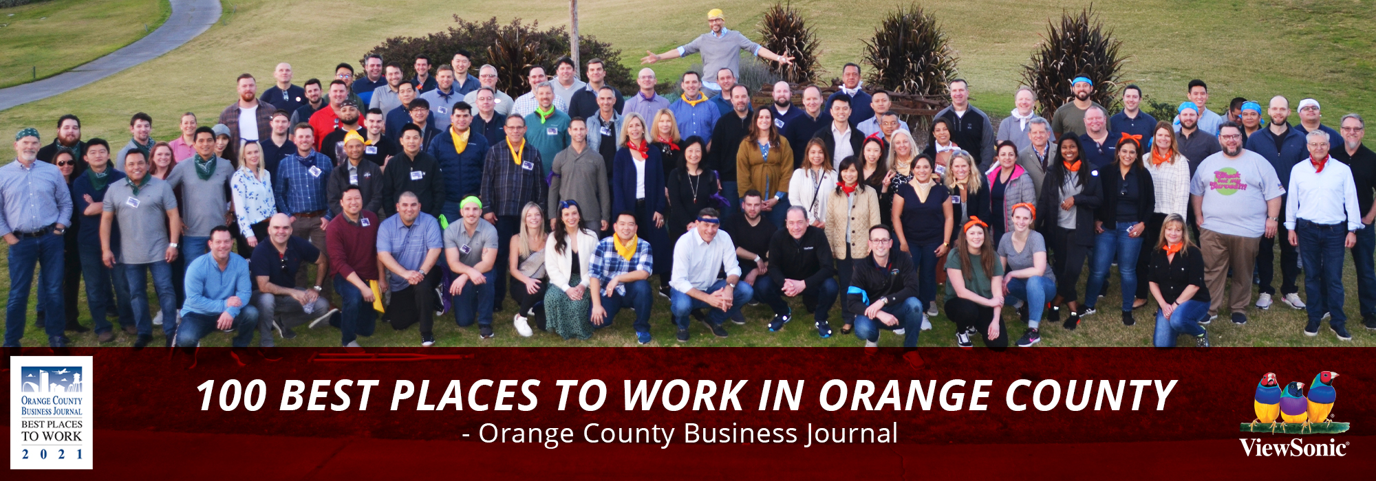 """ViewSonic Named Among """"Best Places to Work in Orange County"""" by OC Business Journal"""