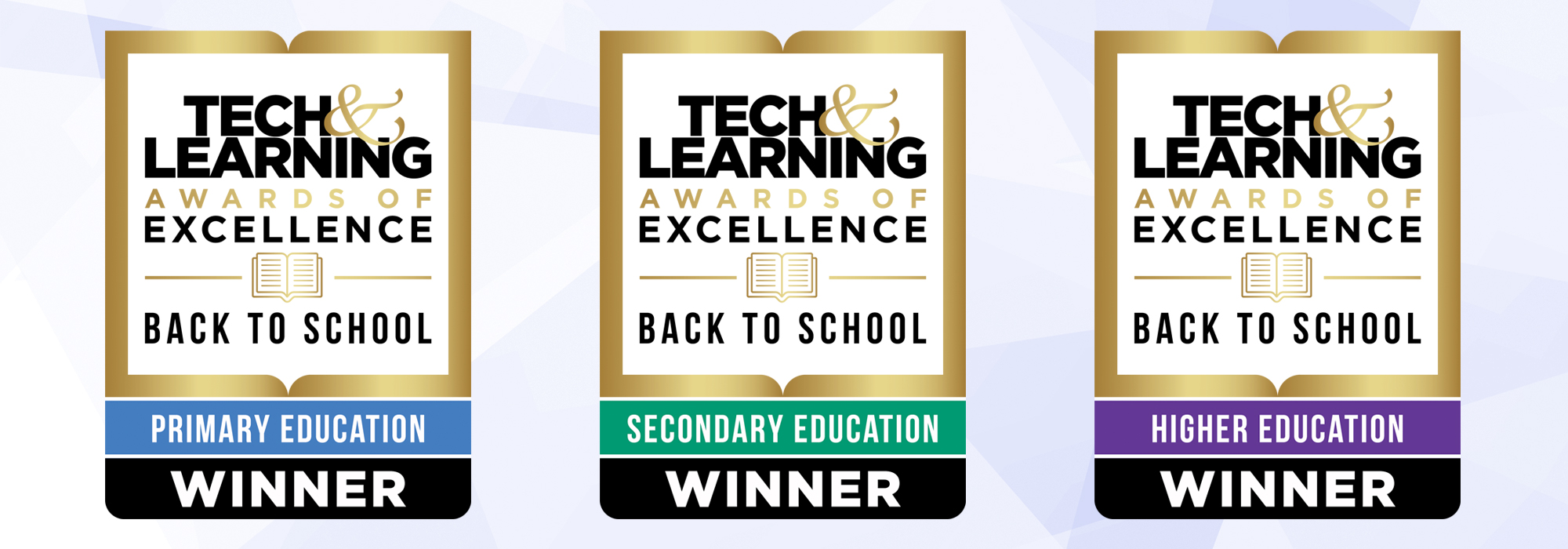 """Three ViewSonic Products Named Winners of Tech & Learning Magazine's 2021 """"Best Tools for Back-to-School"""" Awards of Excellence"""